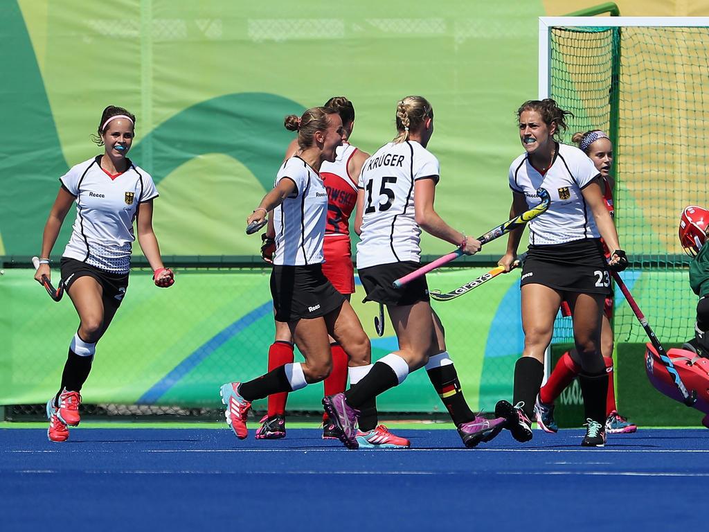 Deutschlands Frauen stehen im Halbfinale