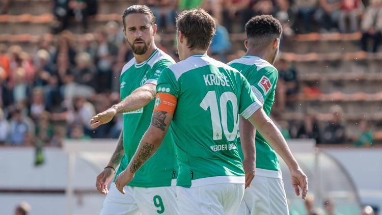 Martin Harnik und Max Kruse sind beim SV Werder wiedervereint