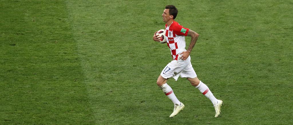 Nach dem Treffer von Mandzukic hoffen die Kroaten weiter auf das Wunder