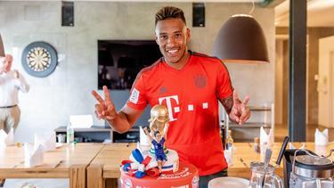 Bayern-Profi Corentin Tolisso wurde mit Frankreich Weltmeister (Bild: Twitter: Tolisso)