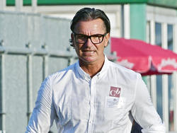 Mattersburg-Coach Gerald Baumgartner bei der 0:6-Pleite gegen den WAC