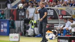 Hoffenheim-Trainer Julian Nagelsmann muss ordentlich umbauen