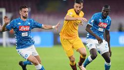 Kein Sieger zwischen Napoli und Roma