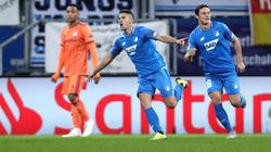 Die TSG Hoffenheim lieferte sich mit Lyon einen spektakulären Schlagabtausch