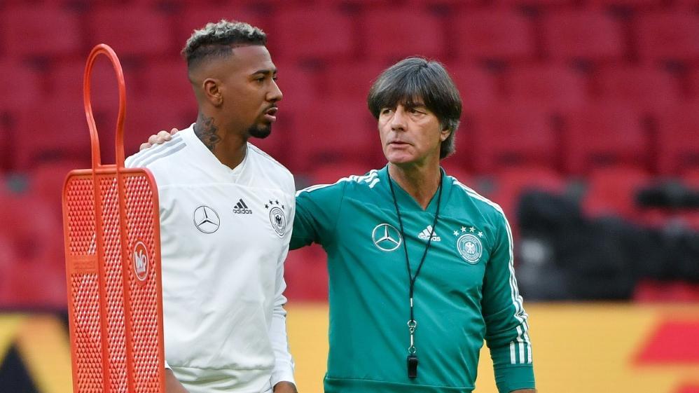 DFB-Team: Joachim Löw plant weiter mit Jérôme Boateng