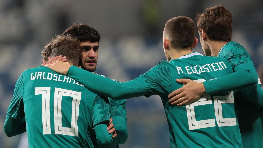 Die deutsche U21-Auswahl will den EM-Titel verteidigen