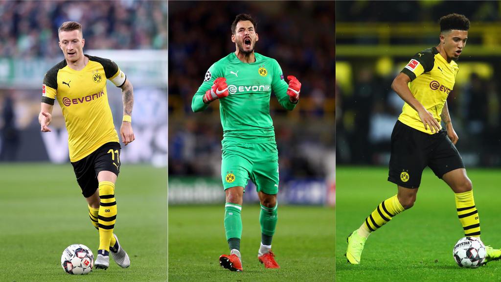 BVB: So lange laufen die Verträge der Dortmund-Stars