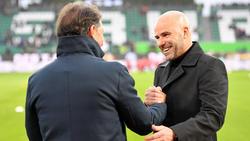 Peter Bosz und die Werkself sicherten sich den Dreier in Wolfsburg