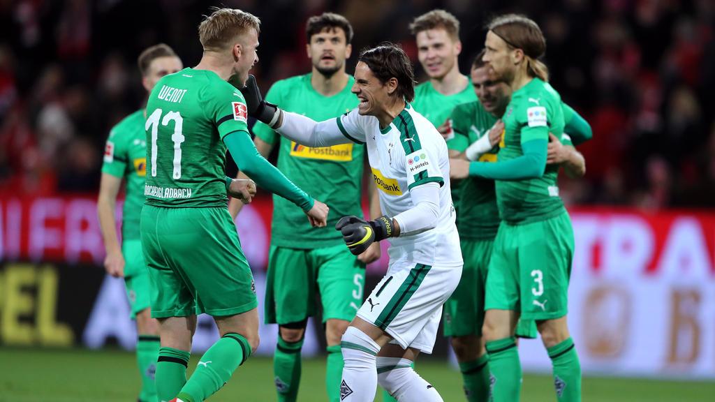 Gladbach siegte beim 1. FSV Mainz 05