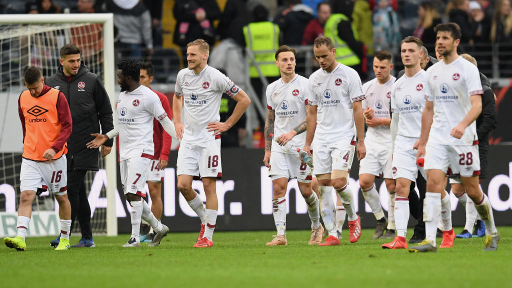 Der 1. FC Nürnberg wartet seit September auf einen Dreier