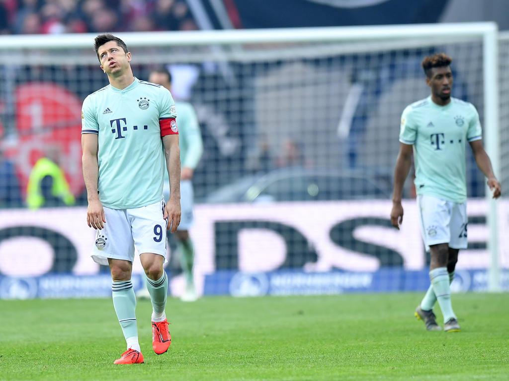 Die Bayern erlebten in Nürnberg eine Enttäuschung