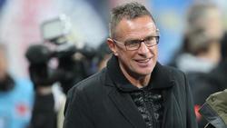 Ralf Rangnick und RBL gehen positiv gestimmt in den Saisonendspurt