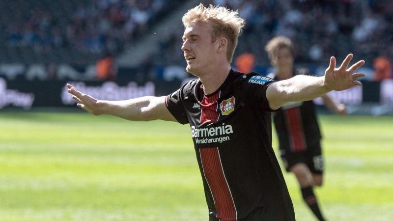 Chancen auf Brandt-Verbleib bei Leverkusen haben sich durch die Champions League Teilnahme erhöht