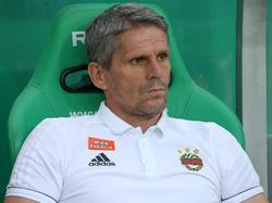 Dem Cheftrainer von Rapid geht der Fußball sehr ab