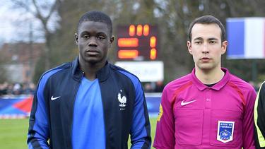 Malang Sarr (l.) ist französischer U-Nationalspieler