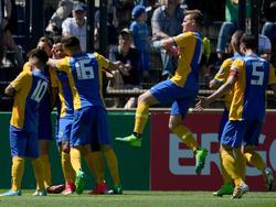 Die Eintracht-Junioren sicherten sich den DFB-Pokal