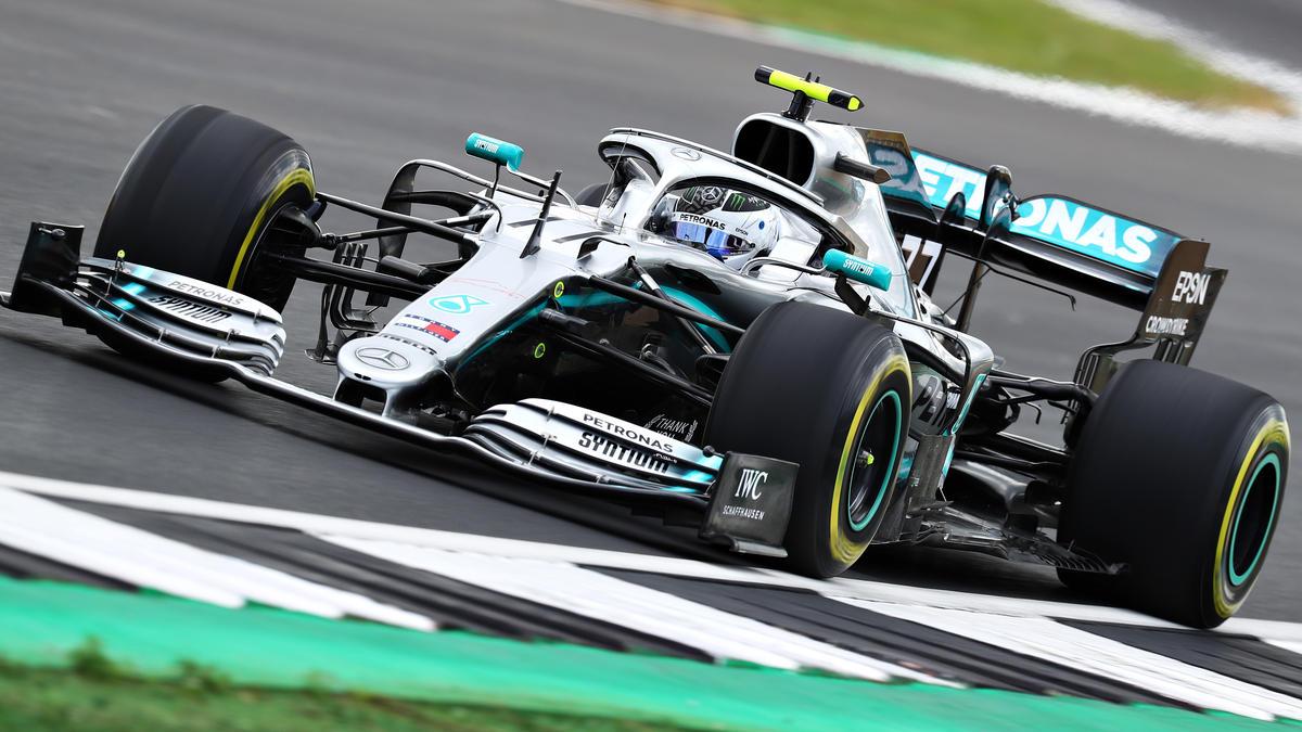 Valtteri Bottas holte sich am Freitag in Silverstone die Bestzeit