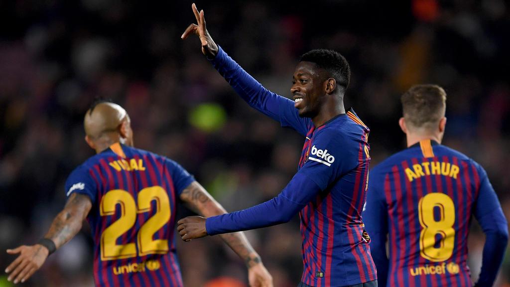 Ousmane Dembélé hofft offenbar auf eine weitere Chance in Barcelona