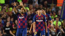 Luis Suárez rescató al Barcelona ante el Arsenal.