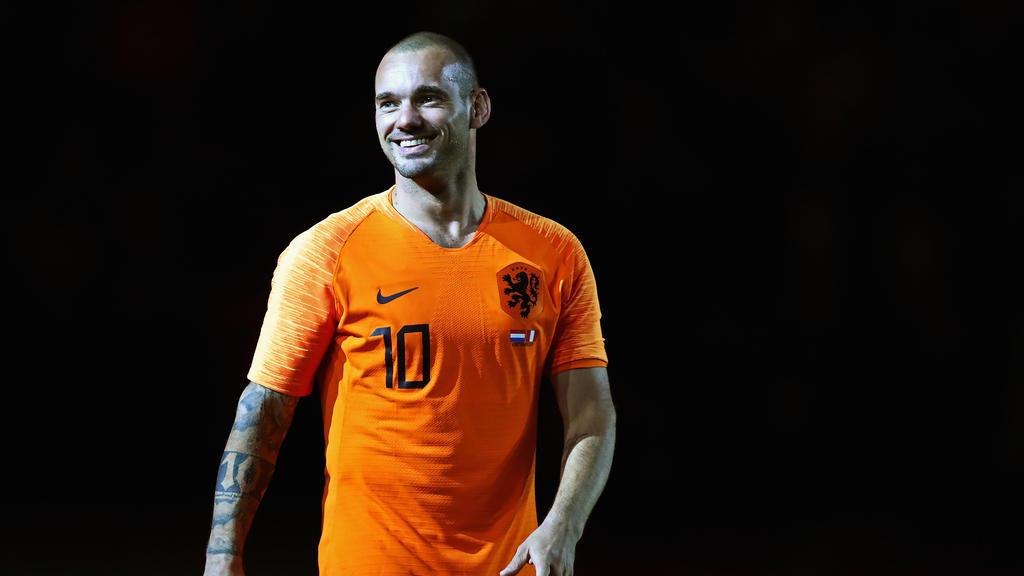 Macht endgültig Schluss: Wesley Sneijder