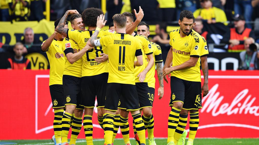 Die Dortmunder ließen den Gästen aus Augsburg keine Chance