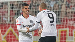 Ein Hoffnungsträger bei Eintracht Frankfurt: André Silva