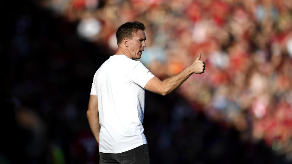 Julian Nagelsmann schwebt mit RB Leipzig derzeit auf Wolke sieben