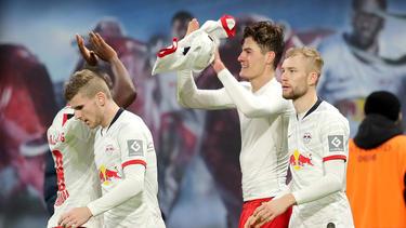 El RB Leipzig sigue acumulando puntos antes del parón.