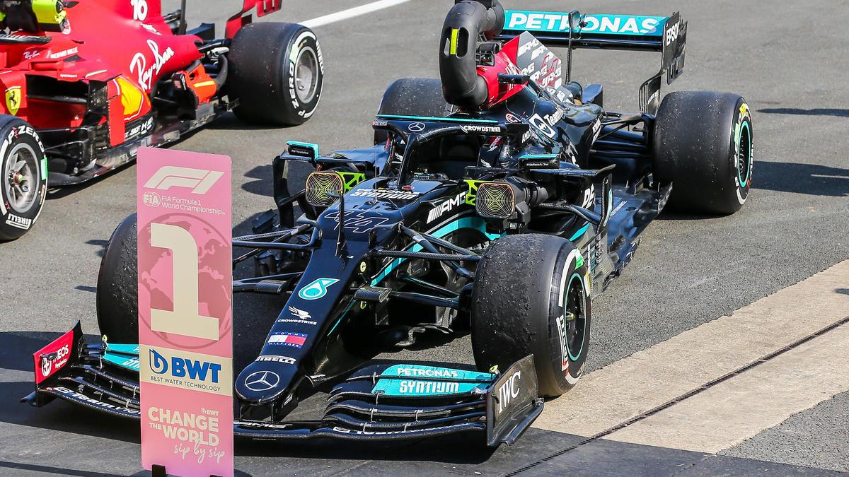Das Rennen in Silverstone 2021 war für fast 40 Minuten unterbrochen, am Ende gewann Lewis Hamilton