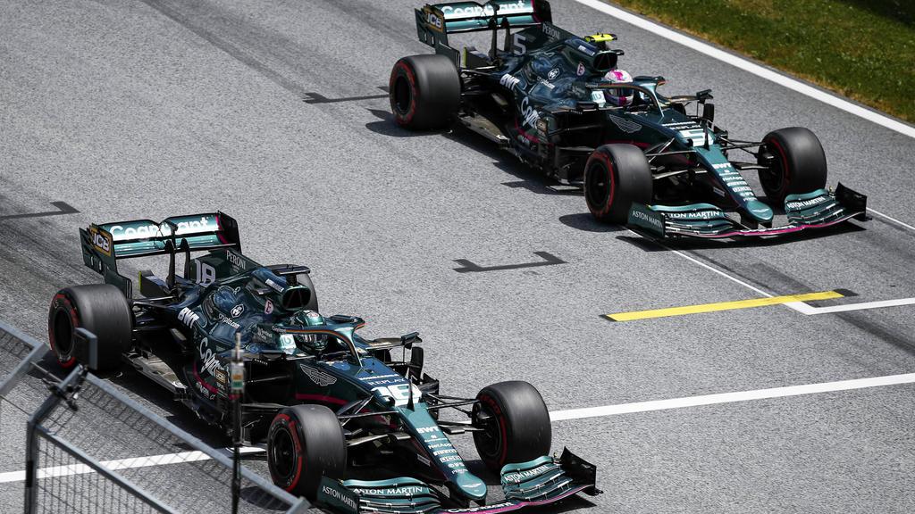 Aston Martin: Sebastian Vettel/Lance Stroll