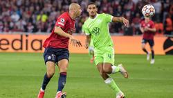 Der VfL Wolfsburg entführte einen Punkt in Lille