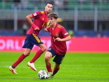 El joven Gavi impresionó al mundo con su semifinal ante Italia.