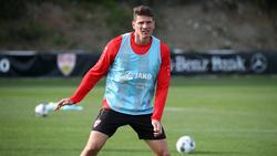 Mario Gomez bereitet sich mit dem VfB Stuttgart auf die Rest-Rückrunde vor