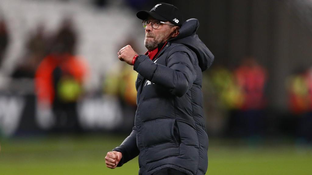 Jürgen Klopp und der FC Liverpool sind klar auf Titelkurs