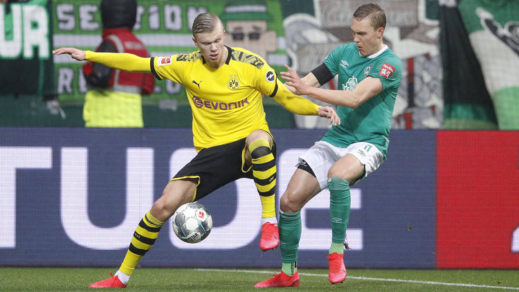 Erling Haaland traf auch gegen Werder Bremen
