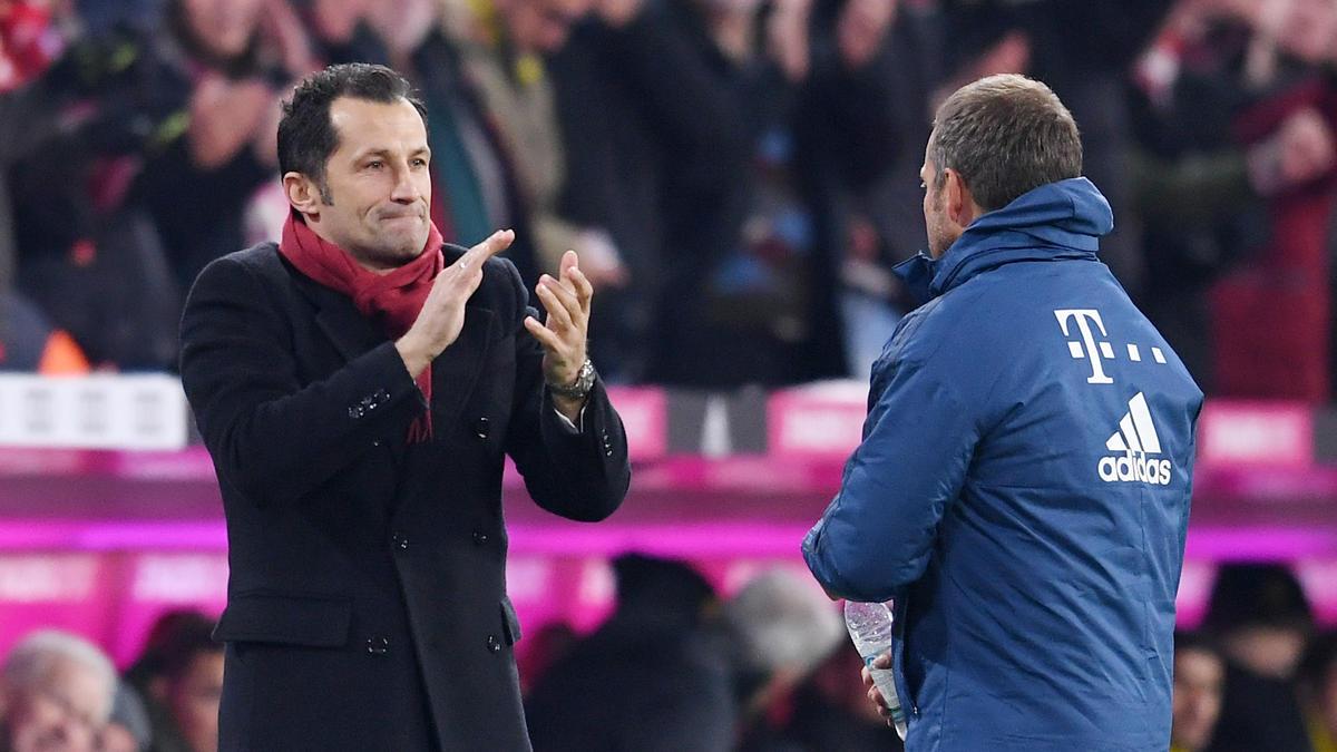 Hasan Salihamidzic und Hansi Flick sind das neue starke Duo des FC Bayern