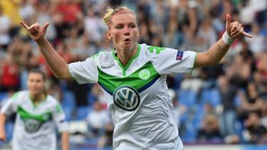 Alexandra Popp vom VfL Wolfsburg