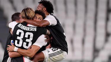 Juventus holt erneut den Titel in der Serie A