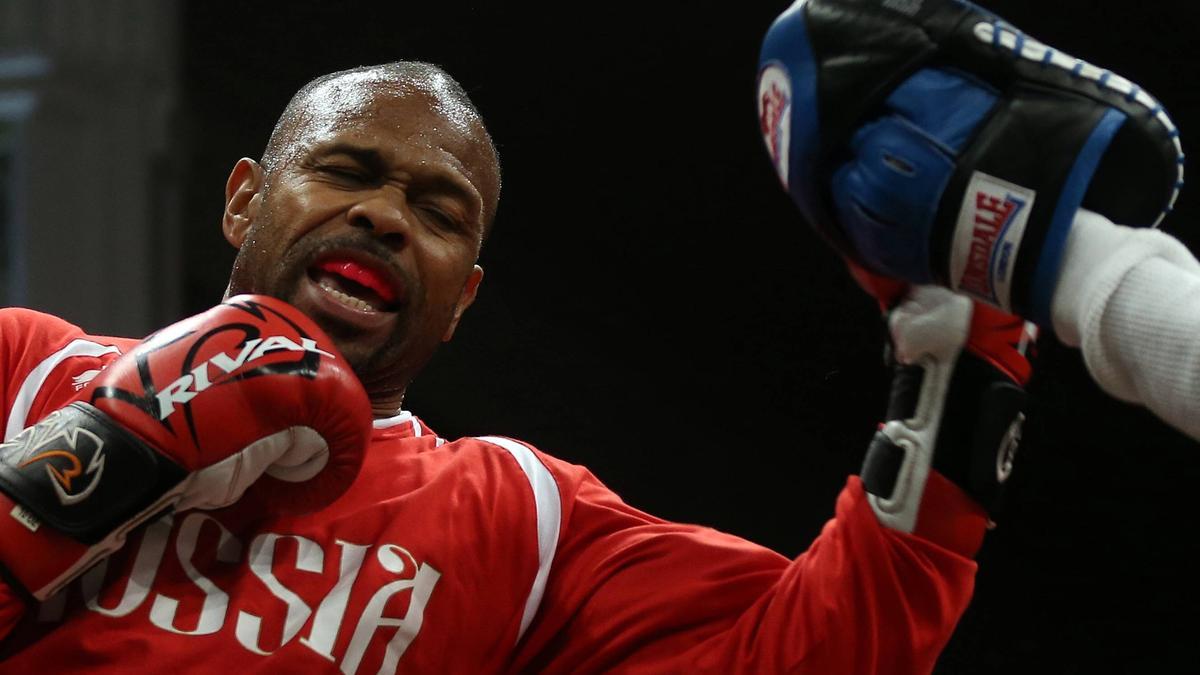 Kämpft gegen Mike Tyson: Roy Jones Jr.