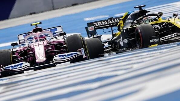 Lance Stroll vs. Daniel Ricciardo: Letzterer ist mit dieser Szene nicht einverstanden