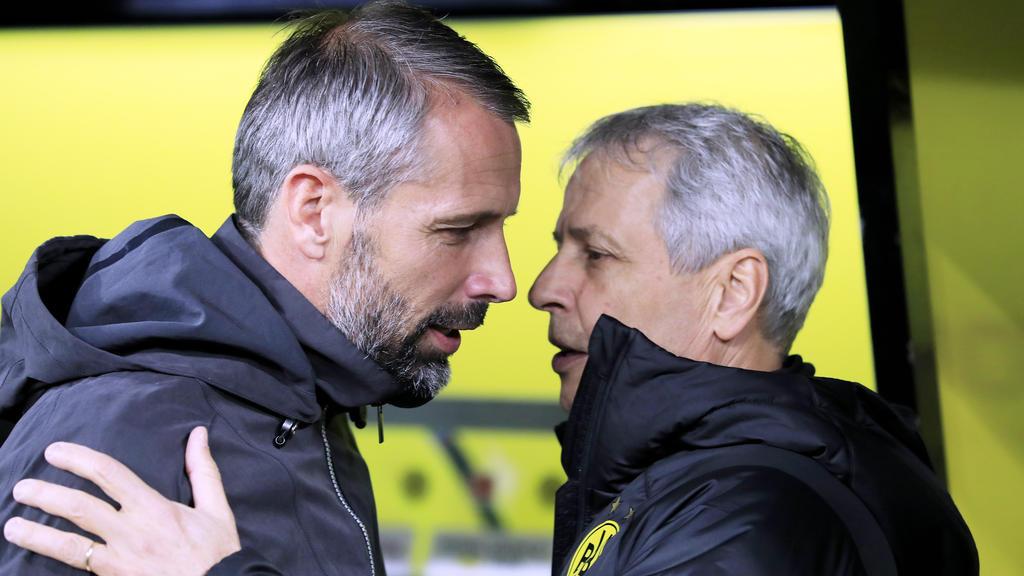 Marco Rose und Lucien Favre treffen am 1. Spieltag aufeinander