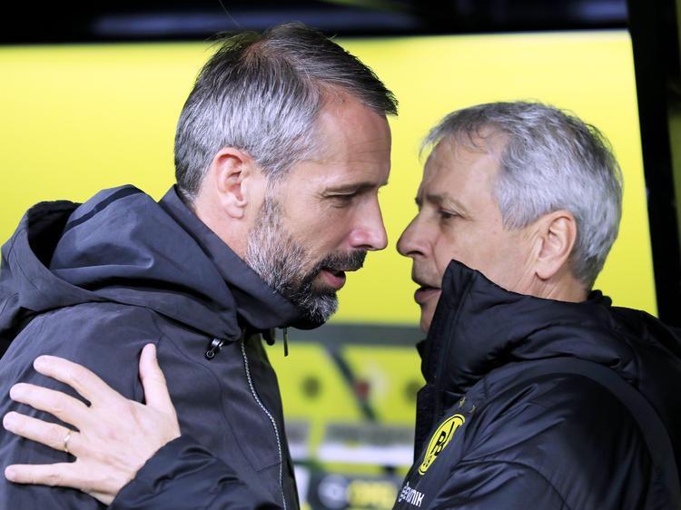 FAVRE Lucien Trainer mit Trainer ROSE Marco