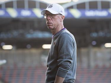 FAK-Trainer Peter Stöger bleibt realistisch