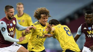 Hatten angeblich eine heftige Auseinandersetzung: David Luiz und Dani Ceballos vom FC Arsenal