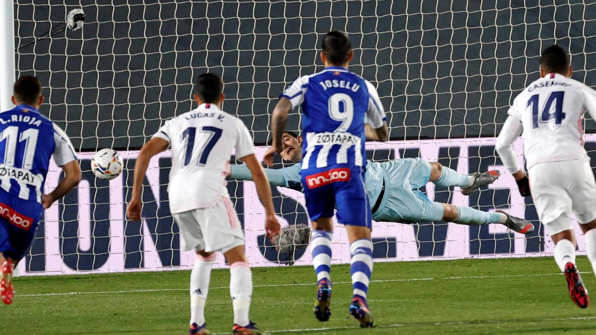 Real Madrid kann Alavés nicht bezwingen