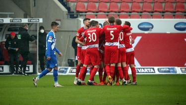 Der 1. FC Heidenheim fuhr gegen Darmstadt 98 einen klaren Erfolg ein