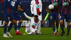 Neymar verletzte sich in Caen