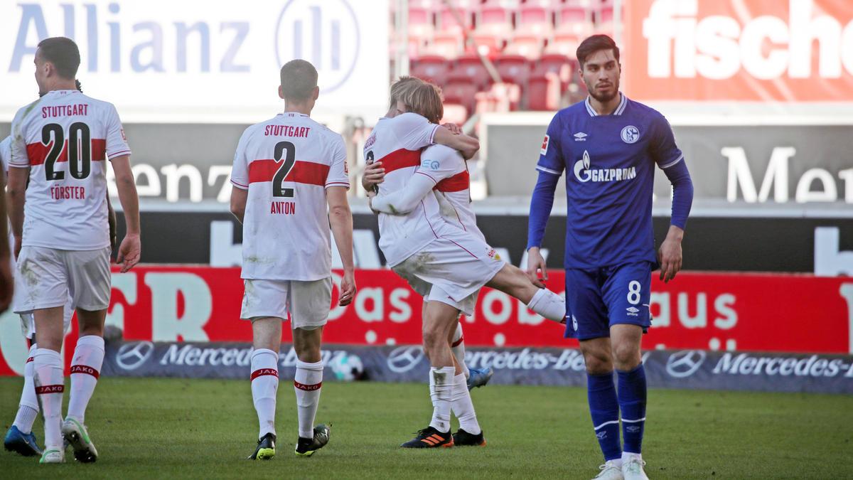 Der FC Schalke ging auch gegen den VfB Stuttgart unter