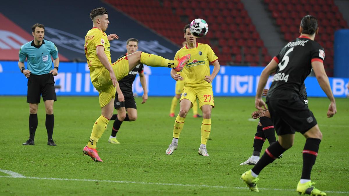 Freiburg entführte drei Punkte aus Leverkusen
