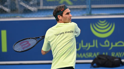 Wird beim Turnier in Doha sein Comeback geben: Roger Federer